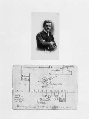 Lohner und Porsche - An early