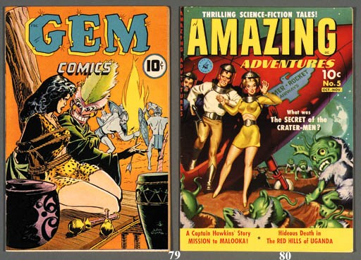 MISCELLANEOUS GOLDEN AGE COMIC