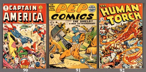 MISCELLANEOUS TIMELY COMICS