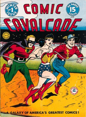 COMIC CAVALCADE COMICS NO.1