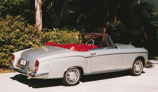 1957 mercedes benz 220s cabriolet christie 39 s for 1957 mercedes benz 220s