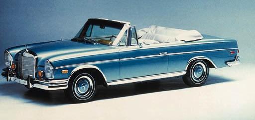 1967 MERCEDES-BENZ 300 SE CONV