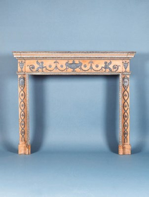 A GEORGE III PINE AND PEWTER C