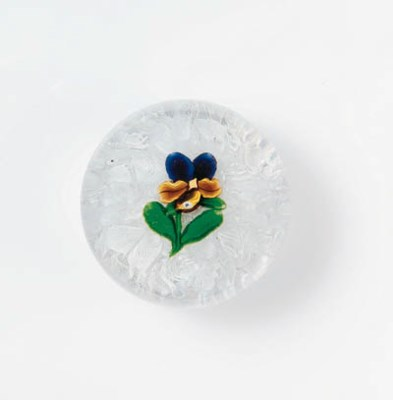 A SAINT LOUIS PANSY WEIGHT