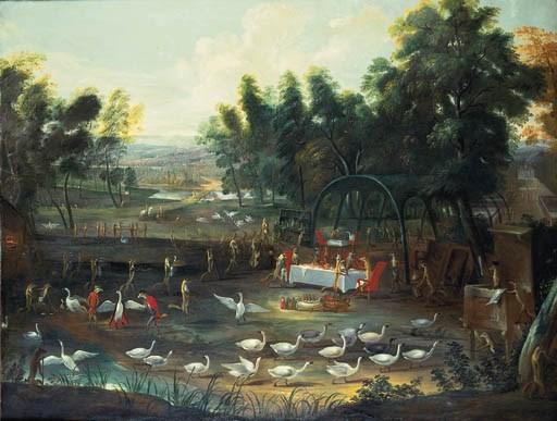 Circle of Jan van Kessel I (16