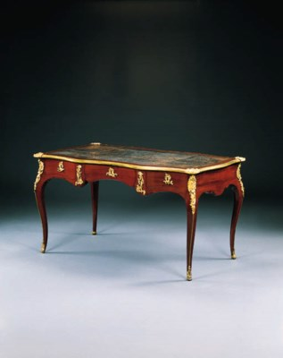 A LOUIS XV ORMOLU-MOUNTED BOIS