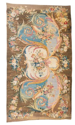 A LOUIS XVI AUBUSSON CARPET