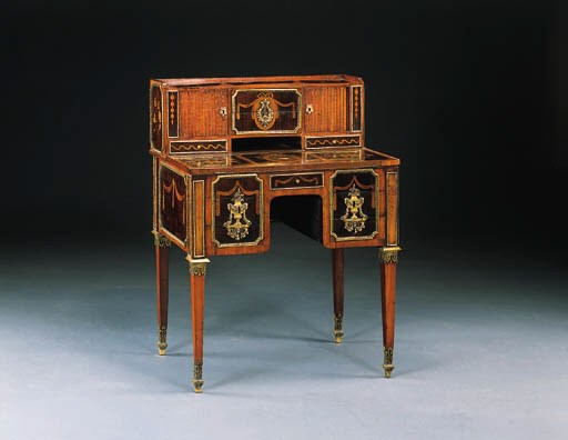 A LOUIS XVI ORMOLU-MOUNTED MAR