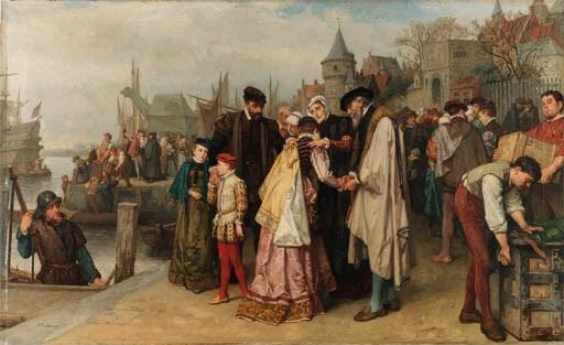 Huguenots (french Calvanists)
