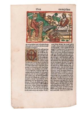 BIBLE, in German -- Biblia ger