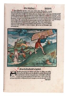 BIBLE, in German. Translated b