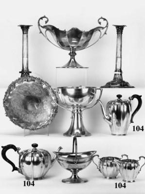 A modern four-piece tea and co
