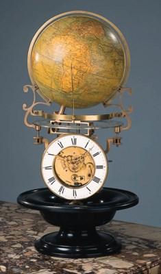 An unusual world timepiece - M