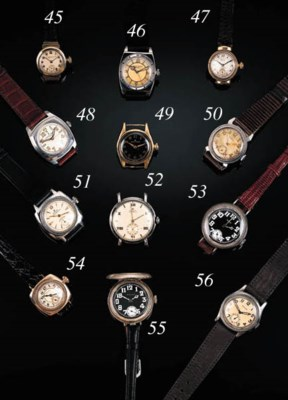A lady's 9ct. gold wristwatch