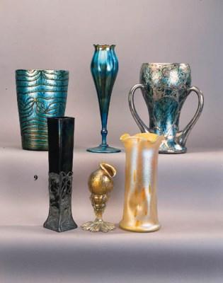 A Palme-Konig iridescent glass