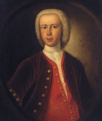 ENGLISH SCHOOL, CIRCA 1742