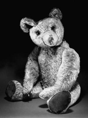 AN EARLY ENGLISH TEDDY BEAR