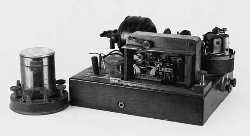 An electric Morse recorder, by