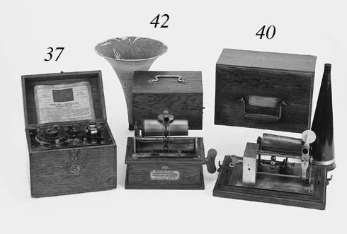 An Edison-Bell Crown phonograp