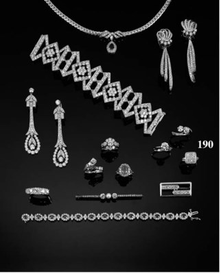An Art Deco, platinum, diamond
