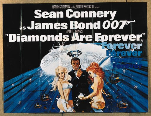DIAMONDS ARE FOREVER, 1971