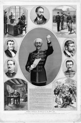 [DREYFUS AFFAIR]. Approximatel