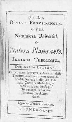 NIETO, DAVID (1654-1728). De l