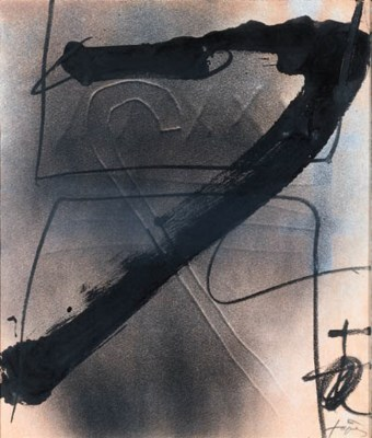 ANTONI TAPIES (N. 1923)