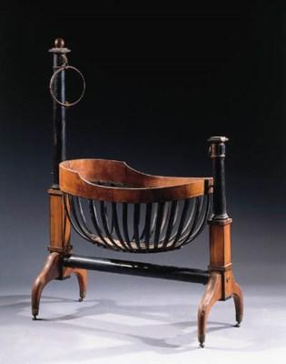 A German Biedermeier mahogany
