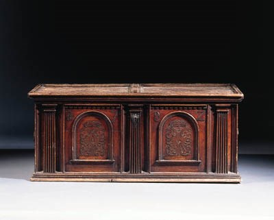 A South German stained pine ch