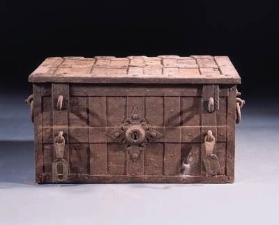 a german iron strongbox