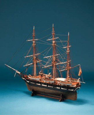 A detailed 20th Century model