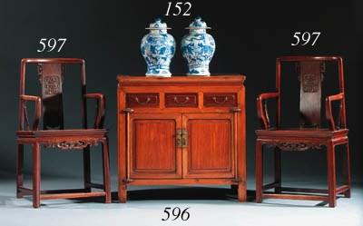 A Ningbo Pei Mu and rosewood c