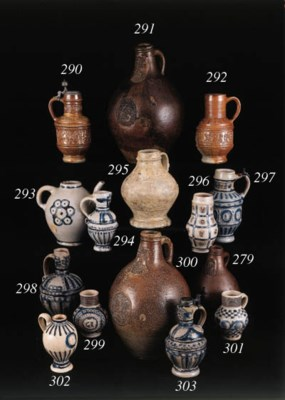 a dated raeren stoneware jug