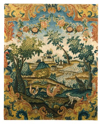 A WOOL AND SILK NEEDLEWORK PIC