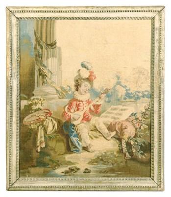 A LOUIS XV BEAUVAIS PASTORAL T