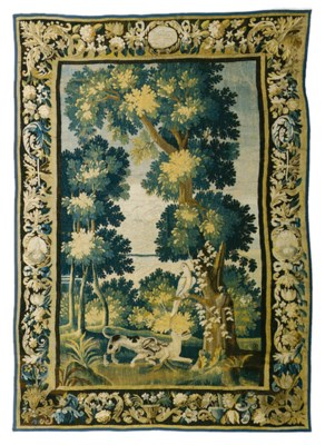 A LOUIS XIV VERDURE TAPESTRY