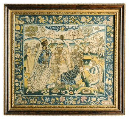 AN ENGLISH NEEDLEWORK PICTURE