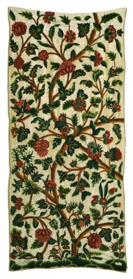 AN ENGLISH FINELY EMBROIDERED