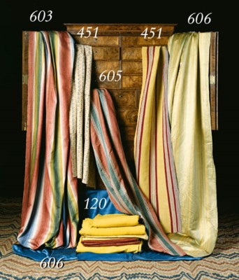 TWO LENGTHS OF SILK