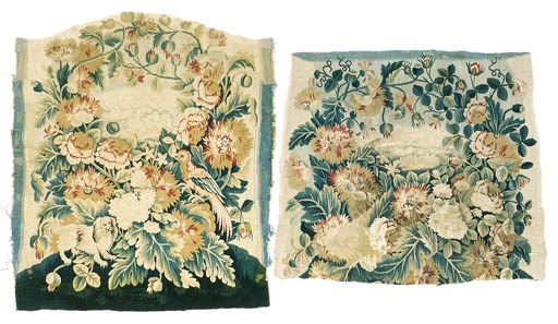 A SET OF FLEMISH CHAIR COVERS