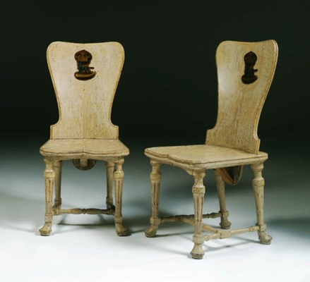 A PAIR OF EARLY GEORGE III WHI