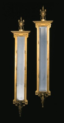 A PAIR OF LATE VICTORIAN GILTW