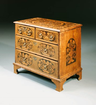 A WILLIAM AND MARY WALNUT AND