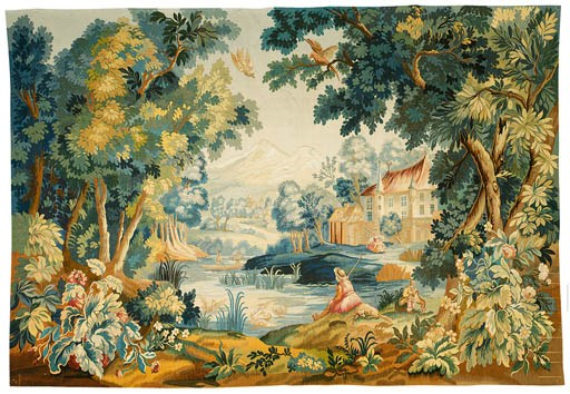 A French Aubusson tapestry