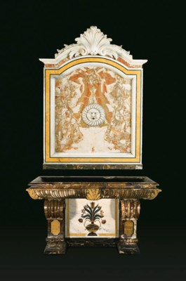 An Italian pietre dure, giallo