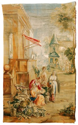 A BRUSSELS TENIERS TAPESTRY