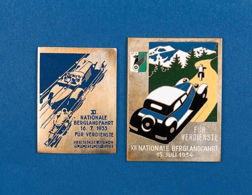 Two fine pre-war German Rally