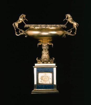 A William IV silver-gilt bowl