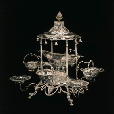 A George III Irish silver eper
